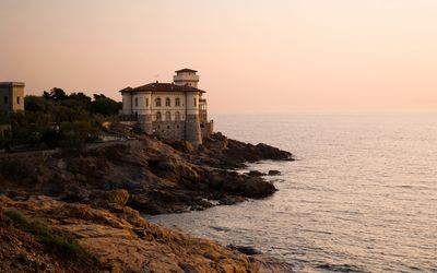 Boccale castle, Italy wallpaper