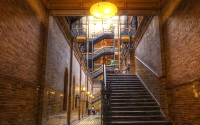 Bradbury Building [2] wallpaper