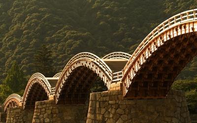 Bridge in China wallpaper