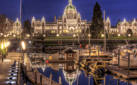 British Columbia Parliament Buildings wallpaper 1920x1080 jpg