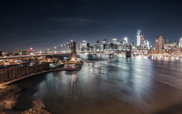 Brooklyn Bridge - New York City wallpaper 2560x1440 jpg