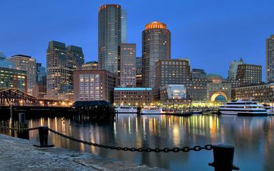 Buildings in Boston wallpaper