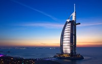 Burj Al Arab Hotel wallpaper 2560x1600 jpg
