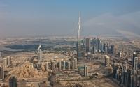 Burj Khalifa guarding Dubai wallpaper 1920x1200 jpg