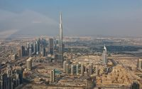 Burj Khalifa in the summer wallpaper 1920x1080 jpg
