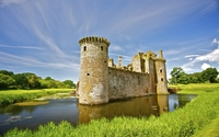 Caerlaverock Castle wallpaper 1920x1200 jpg