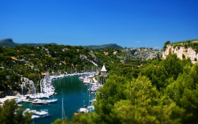 Calanque de Port-Miou wallpaper
