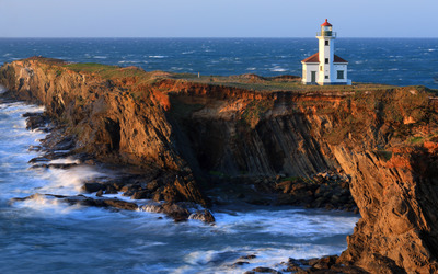 Cape Arago Light wallpaper