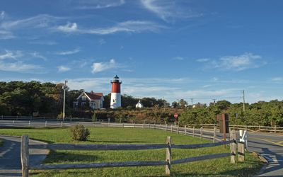 Cape Cod lighthouse wallpaper