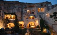 Cappadocia Cave Suites wallpaper 2880x1800 jpg