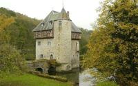 Carondelet Castle, Belgium wallpaper 1920x1200 jpg