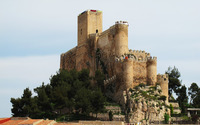 Castle of Almansa wallpaper 2560x1600 jpg