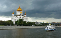 Cathedral of Christ the Saviour wallpaper 2880x1800 jpg