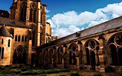 Cathedral of Trier, Germany wallpaper