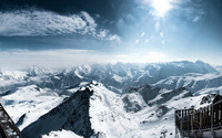 Central French Alps wallpaper 1920x1080 jpg
