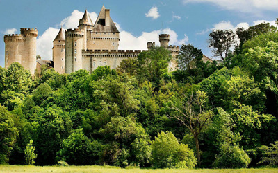 Chateau de Chabenet, France wallpaper