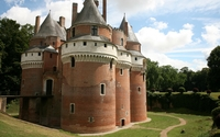 Chateau de Rambures wallpaper 2560x1600 jpg