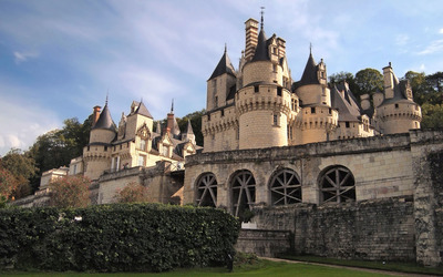 Chateau d'Usse wallpaper