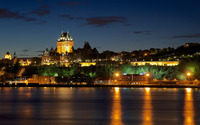 Chateau Frontenac wallpaper 2880x1800 jpg