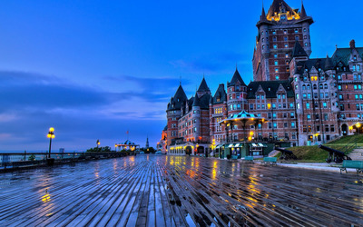 Chateau Frontenac, Quebec wallpaper
