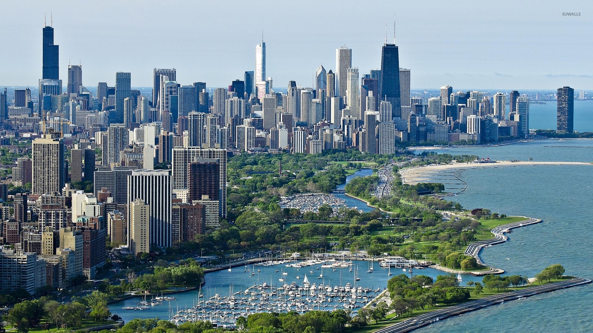 Chicago harbor wallpaper - World wallpapers - #49012