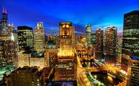 Chicago skyline wallpaper 1920x1200 jpg
