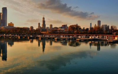 Chicago skyline [2] wallpaper