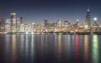Chicago skyline [3] wallpaper 2560x1600 jpg