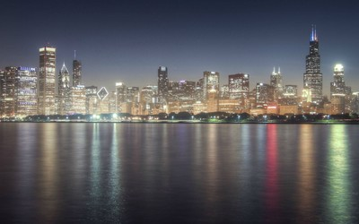 Chicago skyline [3] wallpaper