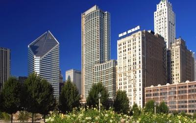 Chicago skyscrapers wallpaper