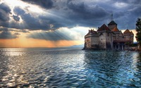 Chillon Castle wallpaper 1920x1200 jpg