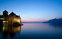 Chillon Castle, Switzerland wallpaper 1920x1200 jpg