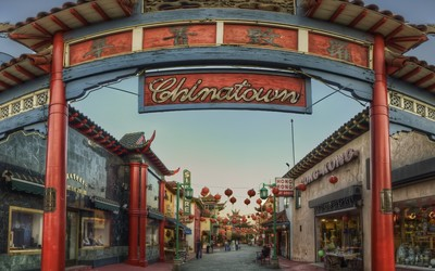 Chinatown in Los Angeles wallpaper