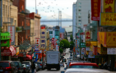 Chinatown - San Francisco wallpaper