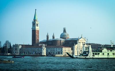 Church of San Giorgio Maggiore, Venice [2] wallpaper