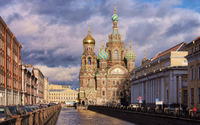 Church of the Savior on Blood wallpaper 3840x2160 jpg