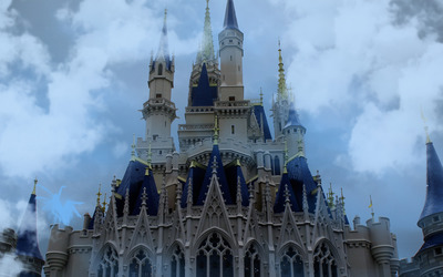 Cinderella Castle, Disneyland wallpaper