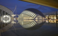City of Arts and Sciences wallpaper 1920x1200 jpg