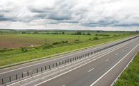 Clouds over the highway wallpaper 2560x1600 jpg