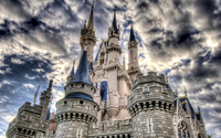 Disney Castle [2] wallpaper 1920x1200 jpg