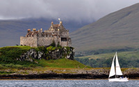 Duart Castle wallpaper 1920x1200 jpg