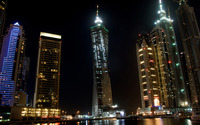 Dubai at night wallpaper 1920x1080 jpg