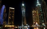 Dubai at night wallpaper 1920x1080 jpg
