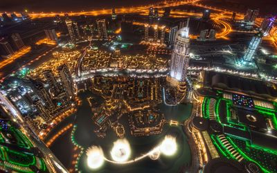 Dubai at night [2] Wallpaper