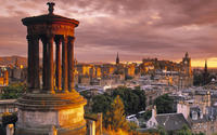 Dugald Stewart Monument wallpaper 1920x1080 jpg