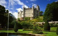 Dunrobin Castle wallpaper 1920x1080 jpg