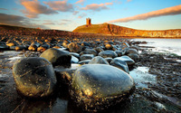 Dunstanburgh Castle wallpaper 1920x1200 jpg