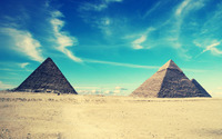 Egyptian pyramids wallpaper 1920x1200 jpg