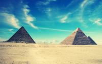 Egyptian pyramids wallpaper 1920x1200 jpg