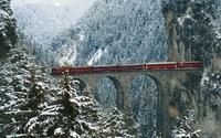 Engadin Valley, Swiss Alps wallpaper 1920x1200 jpg